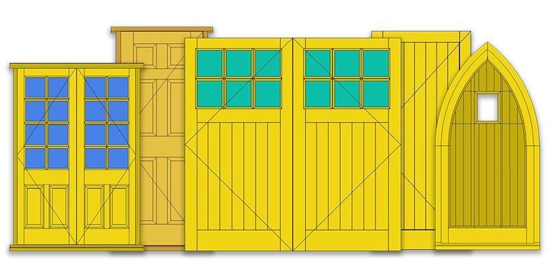 Example of doors that can be achieved in JMS