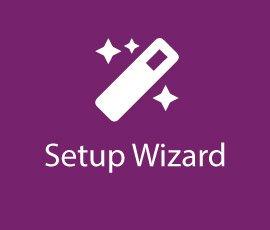 Setup Wizard Card