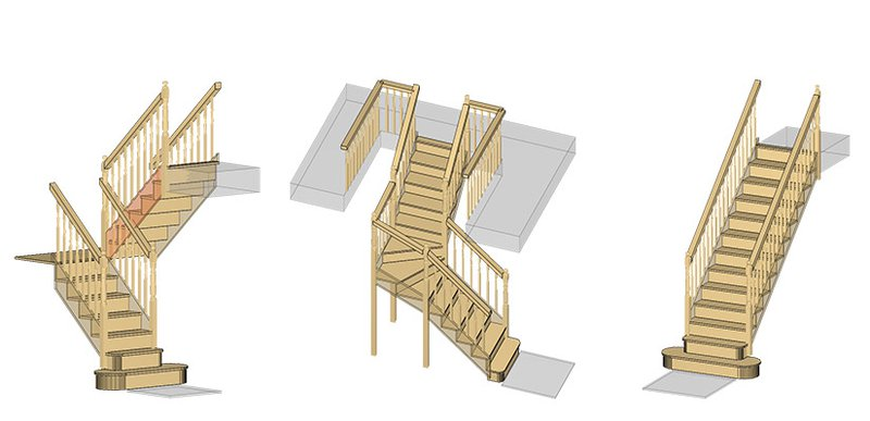 Example of stairs that can be achieved in JMS